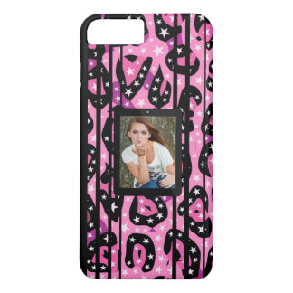 Pink Cheetah Stars Replace Image iPhone 8 Plus/7 Plus Case