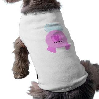 Pink Chef Pom Pom Pal Dog Tee