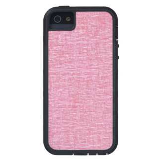 Pink Chenille Fabric Texture iPhone SE/5/5s Case