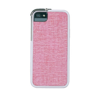 Pink Chenille Fabric Texture iPhone SE/5/5s Cover
