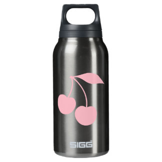 Pink Cherries Insulated Water Bottle