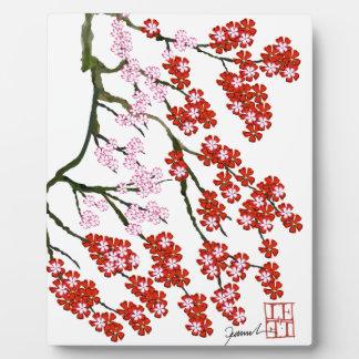 Pink Cherry Blossom 26, Tony Fernandes Plaque