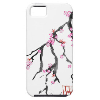 Pink Cherry Blossom 28, Tony Fernandes iPhone SE/5/5s Case