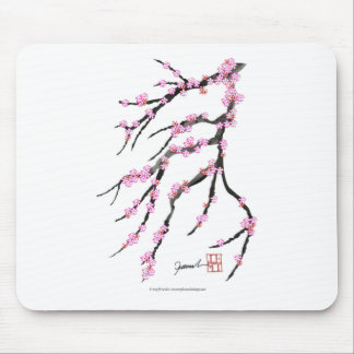Pink Cherry Blossom 31, Tony Fernandes Mouse Pad