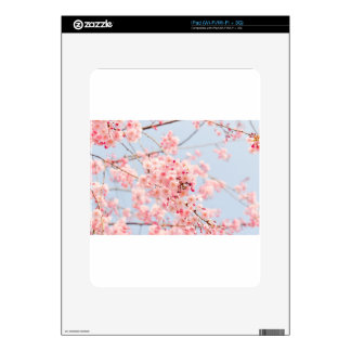 Pink Cherry Blossom Decal For iPad