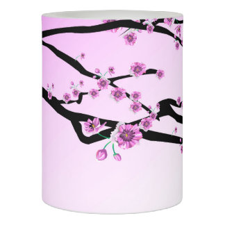 Pink Cherry Blossom Flameless Candle