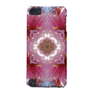 Pink Cherry Blossom Kaleidoscope ipod touch case