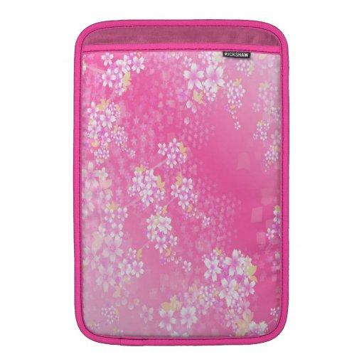 Pink Cherry Blossom MacBook Sleeve