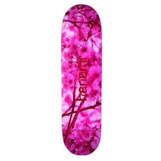 Pink Cherry Blossom Skateboard