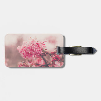 Pink Cherry Blossom Tag For Luggage