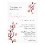 Pink Cherry Blossoms Invitation