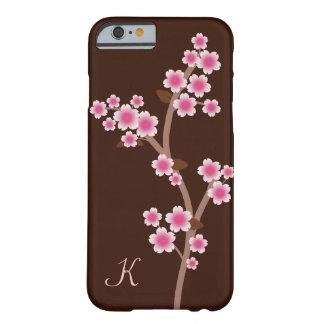 Pink Cherry Blossoms Monogram iPhone 6 Case