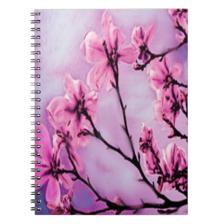 Pink Cherry Blossoms Notebook