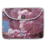 Pink Cherry Blossoms Sleeve For MacBook Pro