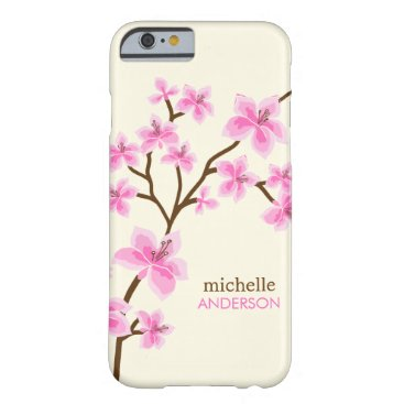 heartlocked Pink Cherry Blossoms Tree Barely There iPhone 6 Case
