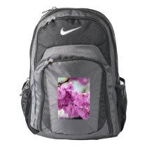 Pink Cherry Sakura Tree Nike Backpack