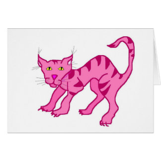 Pink Chesie Greeting Card