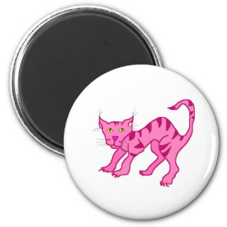 Pink Chesie Refrigerator Magnets