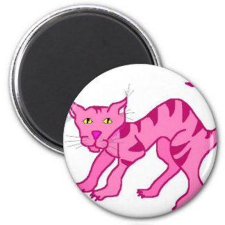 Pink Chesie Fridge Magnet