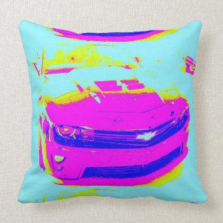 Pink Chevrolet Camaro ZL1 Pillow