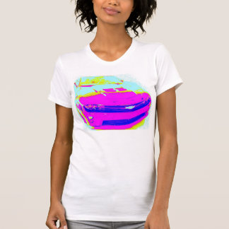 Pink Chevrolet Camaro ZL1 T-shirt