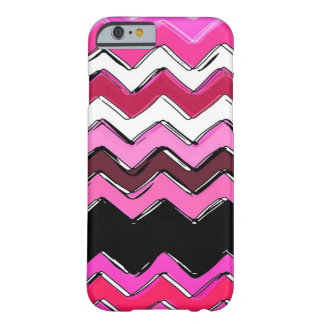 pink chevron barely there iPhone 6 case