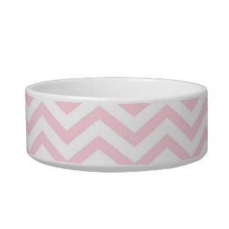 Pink Chevron Girly Pattern Bowl