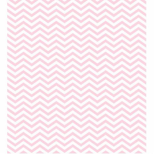 Pink Chevron Girly Pattern Cut Outs Zazzle