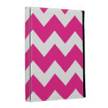 Pink Chevron iPad Folio Cover