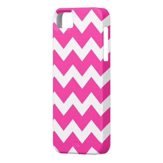 Pink Chevron  iPhone 5 Case