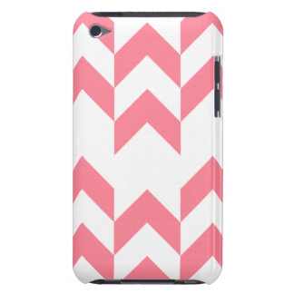 Pink Chevron Pattern Geometric Designs Color iPod Touch Covers