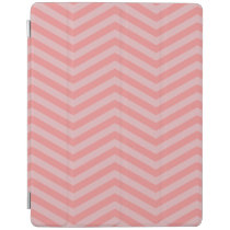 Pink Chevron Pattern iPad Cover