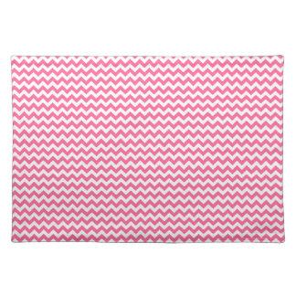 Pink Chevron Placemat Cloth Place Mat