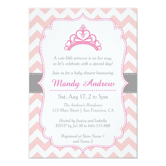 Baby Shower Princess Invitations diabetesmanginfo