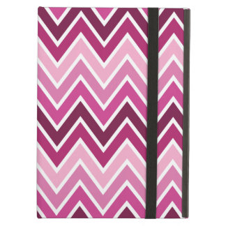 Pink Chevron Stripe iPad Air Case [no kickstand]