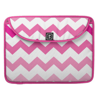 Pink chevron zig zag Macbook Pro Laptop Case Sleeve For MacBook Pro