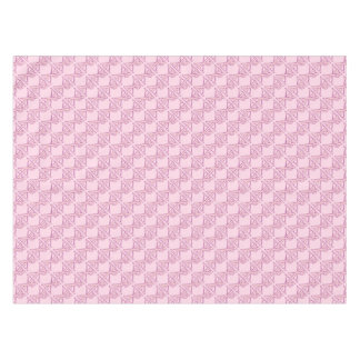 Pink Chi Ro Cross on Pink Tablecloth