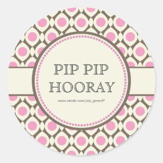Pink Chic Bridal Shower Dessert Table Tag Label