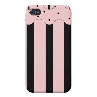 Pink Chic Dots Speck Case iPhone 4