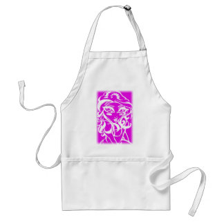 Pink chick adult apron