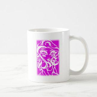 Pink chick classic white coffee mug
