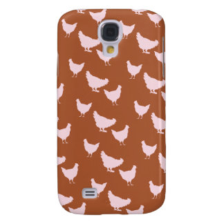 Pink Chickens iPhone Case