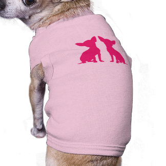 Pink Chihuahua cute pet dog t-shirt, gift idea Doggie Tee