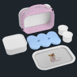 """Pink Chihuahua Lunch Box for Girls<br><div class=""""desc"""">For the discriminating small dog lover!</div>"""
