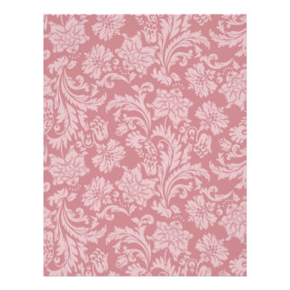 Pink Chintz Pattern Card Stock DIY Scrapbooking