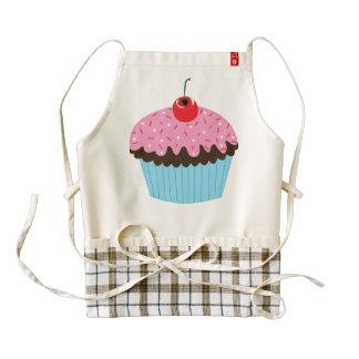 Pink Chocolate Cupcake Apron