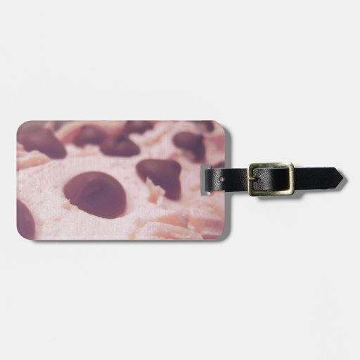 Pink Chocolate Sweet Photo Luggage Tag