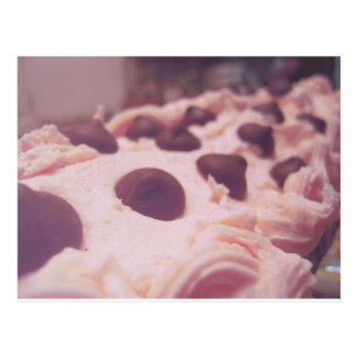 Pink Chocolate Sweet Photo Postcard