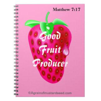 Pink Christian Notebook