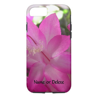 Pink Christmas Cactus iPhone 7 Case